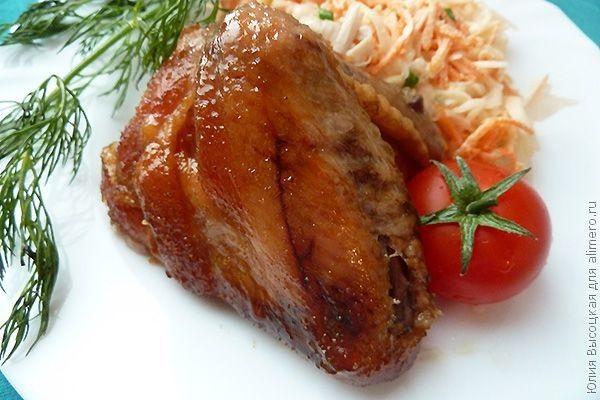 курица в кисло-сладком маринаде
