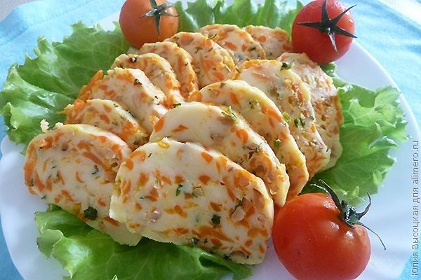 Орехово-морковный сыр
