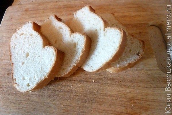 Гренки с плавленным сыром