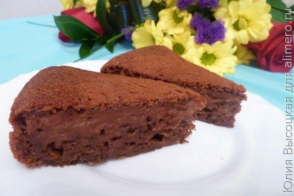 Шоколадный кекс с... кабачком