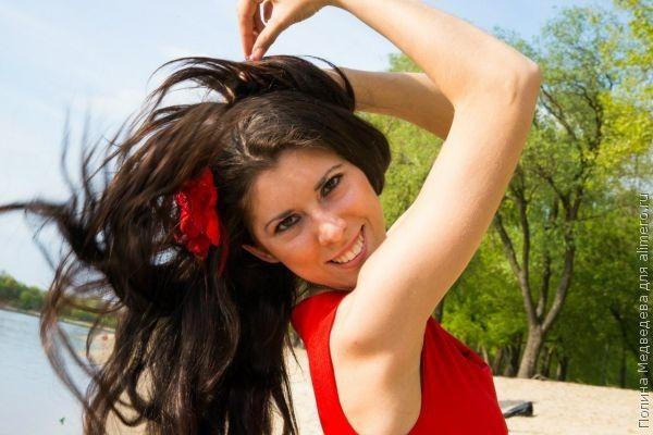 девушка фото
