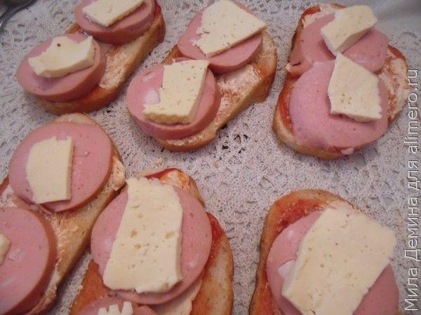 Горячие бутерброды рецепт
