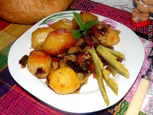 картошка с тушенкой в мультиварке пошаговый рецепт с фото