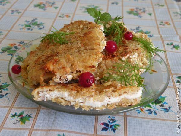 куриное филе в панировке рецепты в духовке с