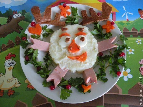 Картофельное пюре для детей