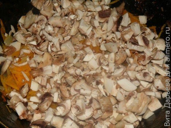 Чебуреки с грибами