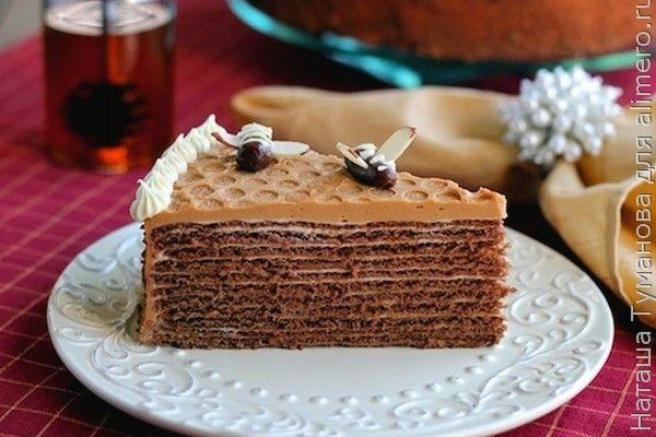 медовый торт в шоколаде рецепт