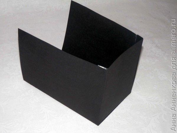 Подарочная коробка к 23 февраля