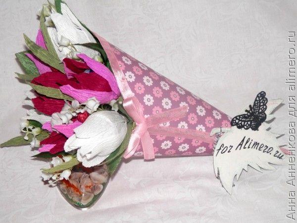 Кулечек для цветов (свит-дизайн)