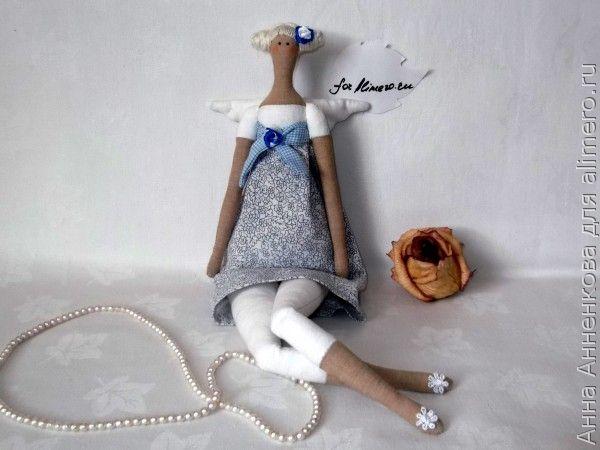 Кукла  Тильда цветочный ангел