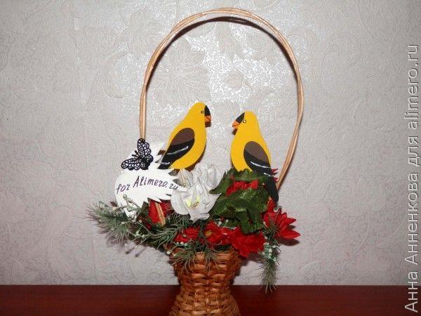 Птички из фоамирана