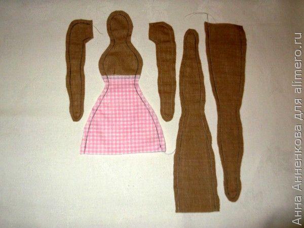 Кукла Тильда Dottie Doll