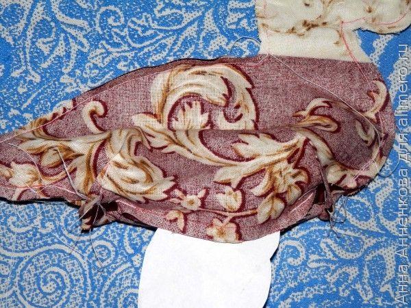 Уточка текстильная
