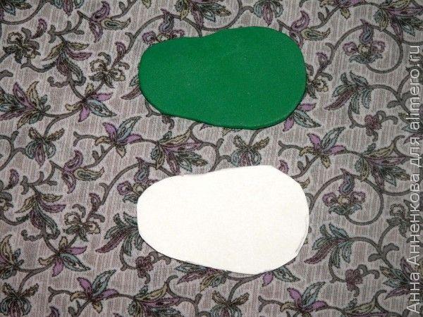 Брелок Мокасин из фоамирана