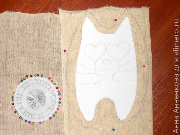 Текстильная игрушка Кот