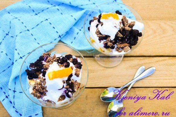 летний десерт