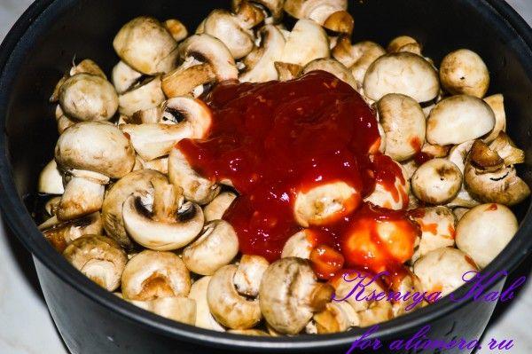 картошка с уткой в мультиварке