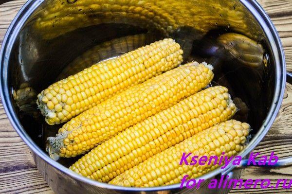 кукуруза рецепт