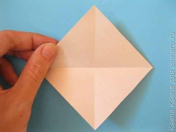 оригами утенок