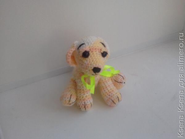 амигуруми собачка