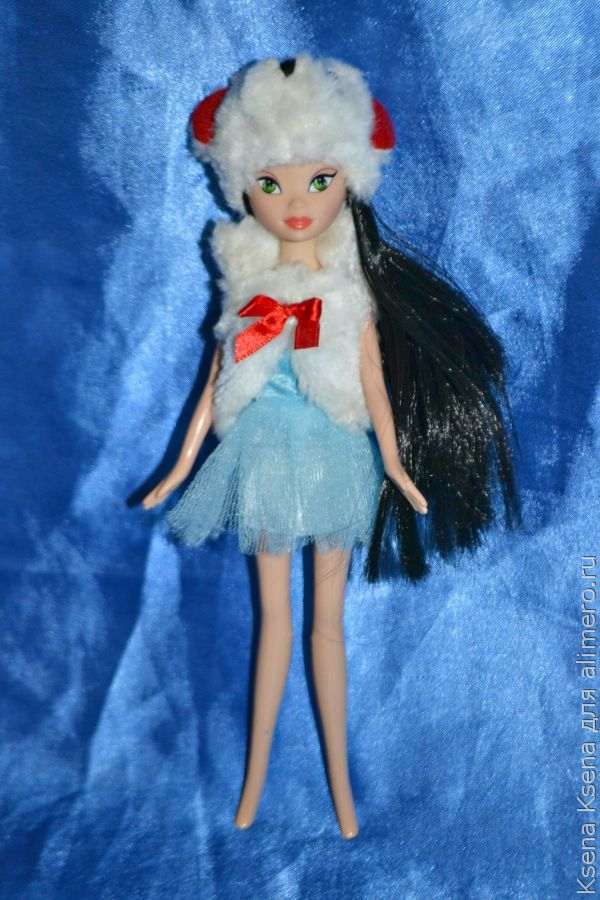маскарадный костюм для куклы