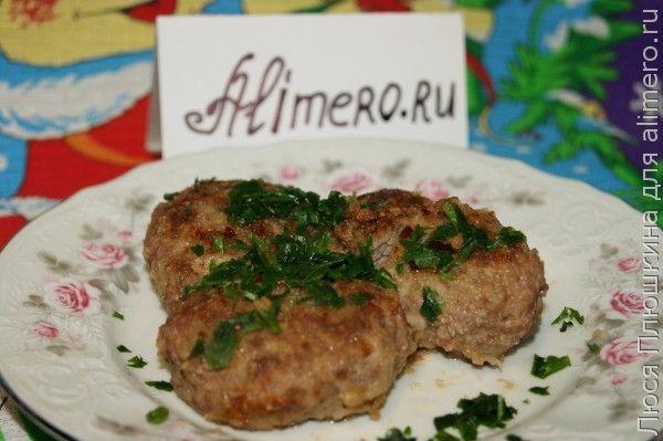Мясные зразы с грибами и сыром