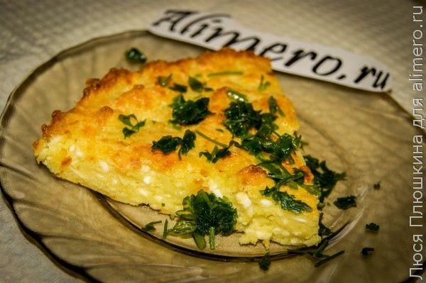 Сырный пирог для больших любителей сыра