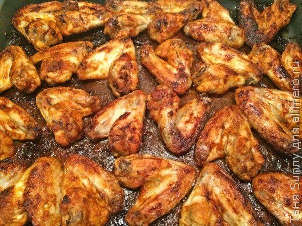 Куриные крылышки барбекью