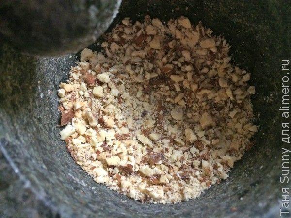 Барабулька жареная на рисе с цветной капустой