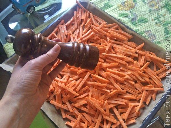 Чипсы из батата