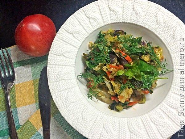 Салат с капустой кейл