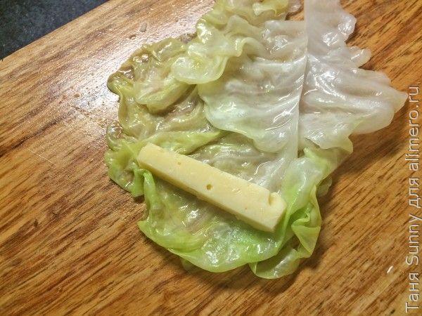 Капуста с сыром