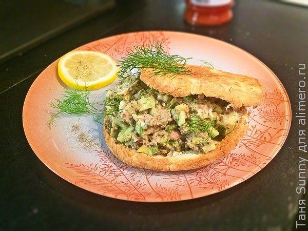 Салат из консервированного тунца