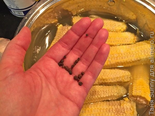 Кукурузное пюре