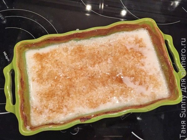 Рисовая каша в духовке с грушей