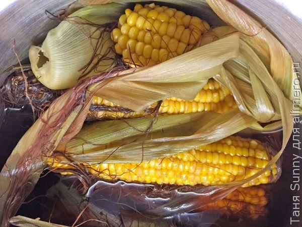 Ризотто в кукурузой и утиной грудкой