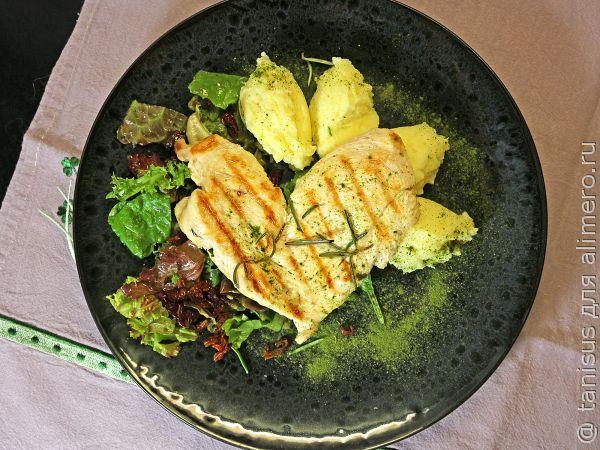 Романтический ужин - пайар из курицы