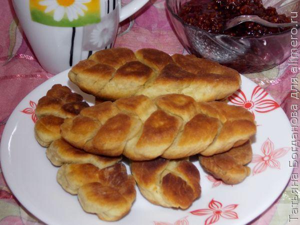 Печенье на кислом кефире
