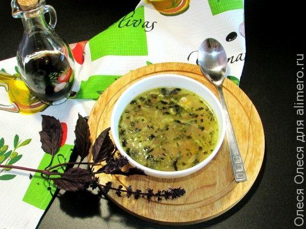 Картофельный суп в стиле фьюжн