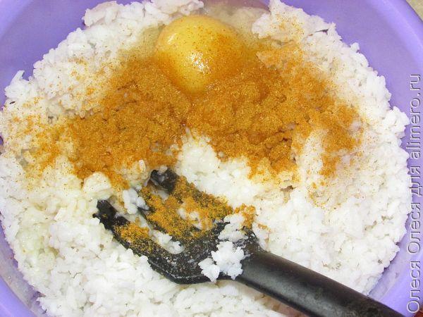 рисовая запеканка