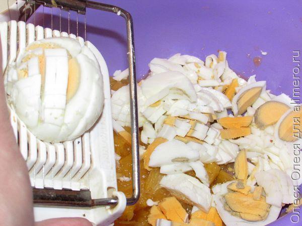 крабовый салат с апельсином