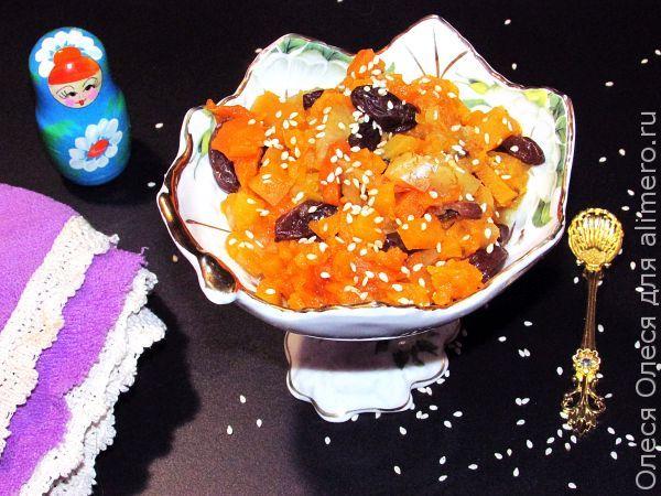тыквенный десерт