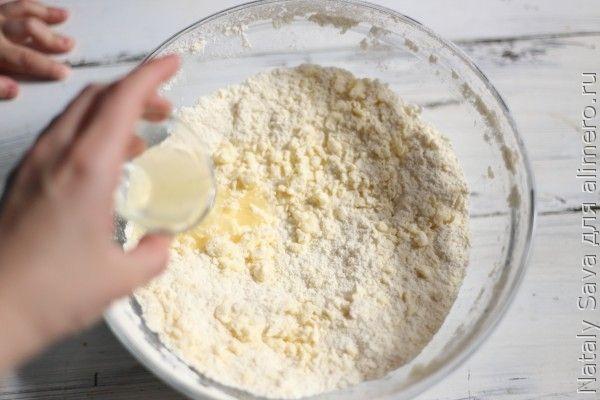Печенье с глазурью. Добавляем лимонный сок в тесто.