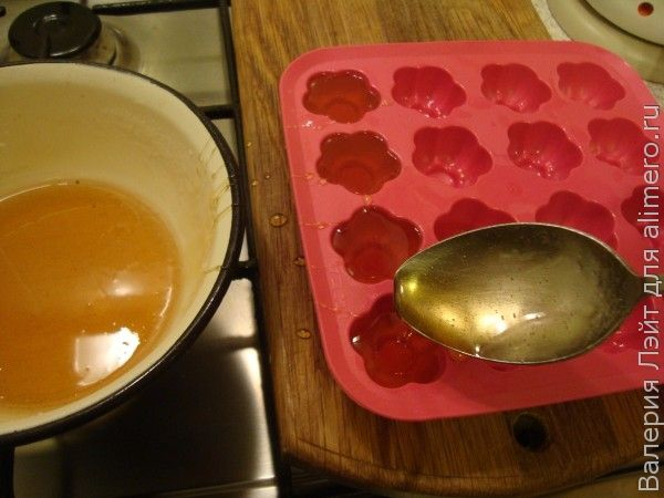 Как сделать сладкую воду из сахара