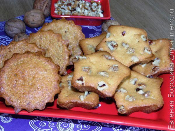 Ароматные банановые кексы vs кексы с орешками