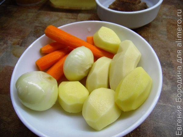 Гороховый суп для детей