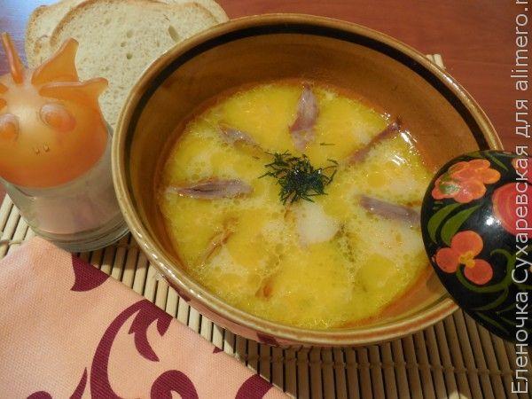 Куриный суп со сливочным вкусом