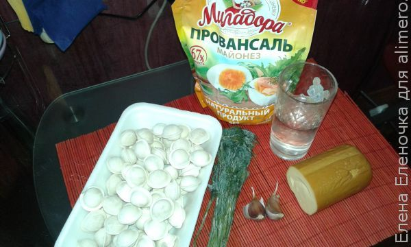 Рецепт пельменей с сыром и чесноком в мультиварке