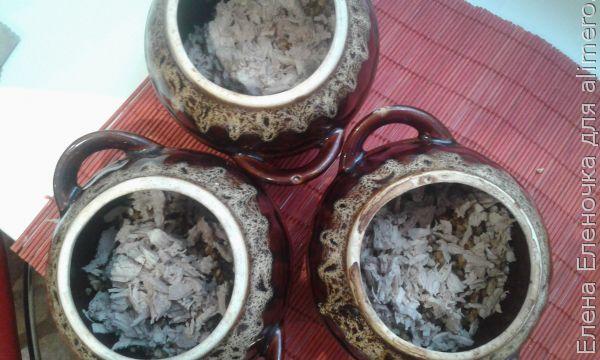 рецепт гречки со свининой в горшочках