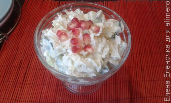 Салат из гребешков куриных рецепт с очень вкусный с